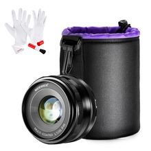 Buy Neewer 35mm f/1.7 Manual Focus Prime Fixed Lens Lens Pouch Cleaning Kit SONY E-Mount Digital Cameras NEX3 3N 5 5T for $89.99 in AliExpress store