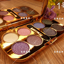 8 Colors NEW Diamond Bright Nake Makeup Eyeshadow Palette Maquillage Eye Shadow Professional Cosmetic With Brush Make Up Set