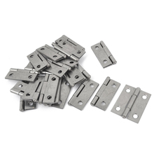 "LHLL-Rectangle Folding Closet Cabinet Door Hinge Hardware 1.5"" 20 Pcs"