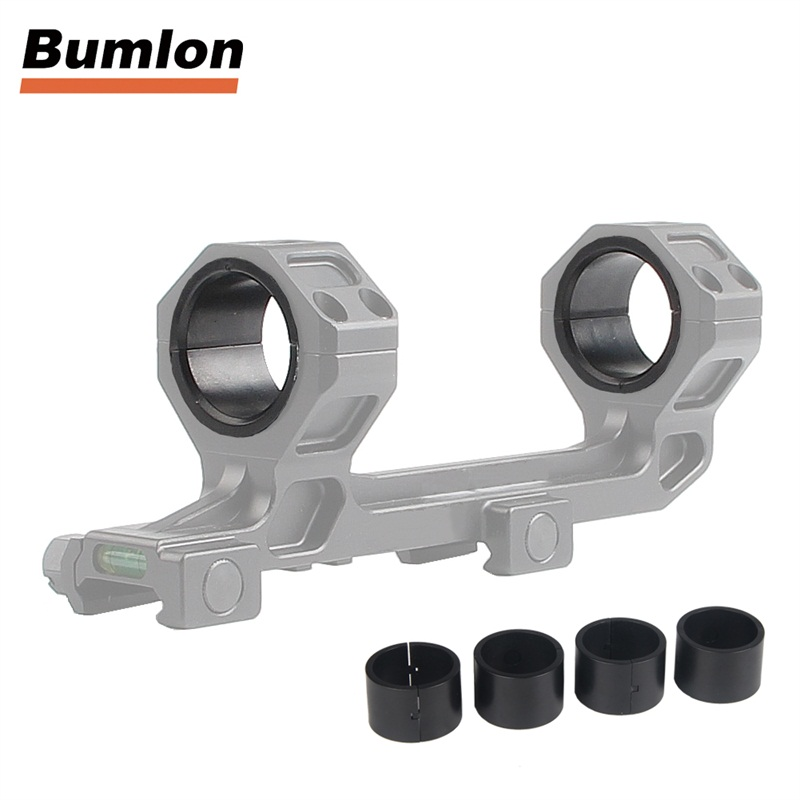 30mm to 25.4mm 1inch Ring Scope Mount Inserts Adapter Torch Tube Converter for Hunting Airsoft Tactical 8pcs RL37-0077 (9)