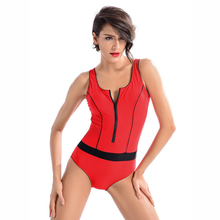 2017 One piece Arena Swimwear Competition Swimsuit Women Competitive Bathing suit training swimming pants Bodysuit Brief Red
