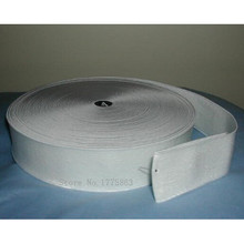 "2"" 50mm White Woven Flat Knitted Elastic Craft Sewing -  1 metre AA7624"