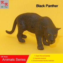 Hot toys: close mouth Black Panther Simulation model Animals kids toys children educational props(China)