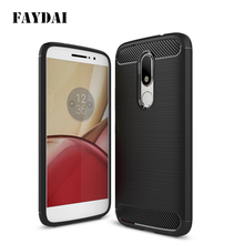 For Moto M Case Luxury Soft Silicone Cases Carbon Fiber TPU Back Cover Case For Motorola Moto M Mobile Phone shell Fundas Coque