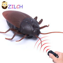 New Infrared RC Remote Control Scary Cockroach Simulation Science Early Education Puzzle Children Boy Electronic Pet Toy Gift