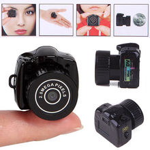 APRICOTCAR 720P HD Super Mini Y2000 Car DVR Portable Camera VCR Video Recorder Outdoor Sports DV Auto Save Video