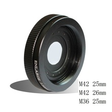 Buy New Optical Enlarge 1.5/25mm 1.5/26mm Narrow Zoom Iris Diaphragm Aperture Condenser Adapter Camera Lens Mounting Thread M42 M36 for $60.67 in AliExpress store