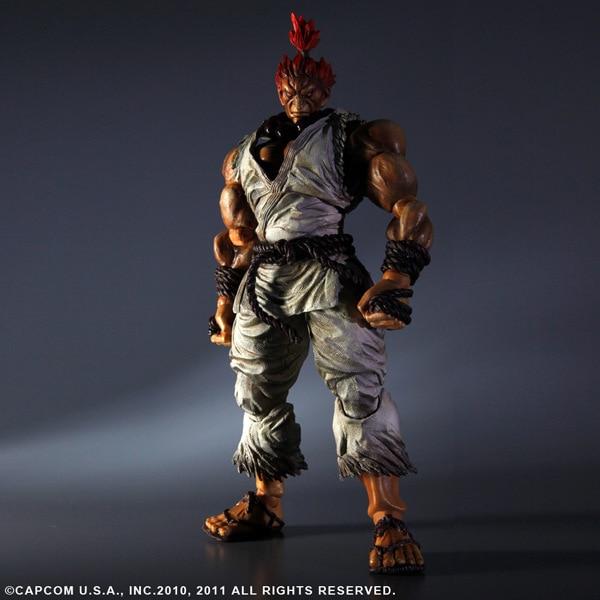 PLAY ARTS KAI Street Fighter IV 4 Gouki Akuma PVC Action Figure Collectible Model Toy 24 cm KT3503<br><br>Aliexpress
