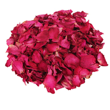 Petal bath Bathing Tool accessories 100g/Pack 100% Natrual Rose Petal Bathroom Relieve Fatigue Skin Smooth dried rose petals Z35(China)