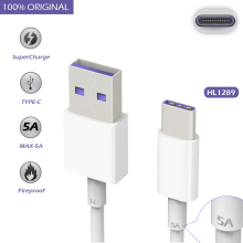Original for Huawei Mate 9 Pro/P10 Plus 4.5V/5A Cable SuperCharge USB 3.1 Type C Fast Charging Type-C Cabel Charger for Mate9