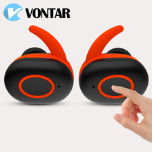 Vontarl Sports TWS Earbuds True Wireless Earphone Twins Bluetooth Headsets Airpods Style Portable