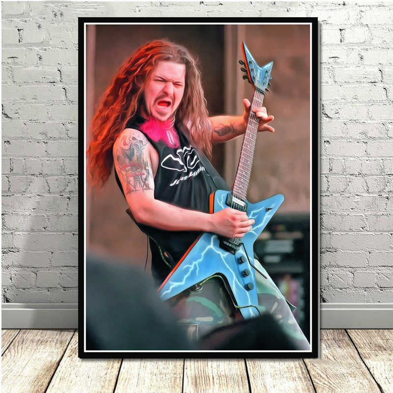 Detail Feedback Questions about Poster And Prints Dimebag Darrell