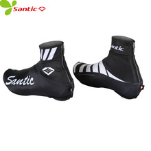 SANTIC men women cycling shoe covers dustproof reflective off raod bike sneakers cover bicycle mtb sports shoes cover