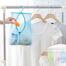 Multifunctional hanging storage bag container for toys mesh bag crib bedding bathroom laundry storage makeup organizer(China)