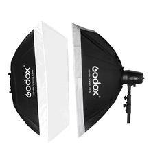 "Godox 50x70cm/20*28"" 60x60cm/24*24"" 60x90cm/24*35"" Universal 98mm Mount Softbox for Studio Flash Strobe K150A K180A 250DI 300SDI"