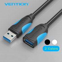 Vention USB 3.0 Cable Super Speed USB Extension Cable 3.0 Male to Female 1m 1.5m 2m 3m USB Data Sync Transfer Extender Cable(China)