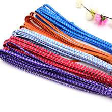 2 pieces of 5m long Stretch Color full Elastic Band Apparel Sewing & Fabric accessery 0.7cm wide Free shipping(China)