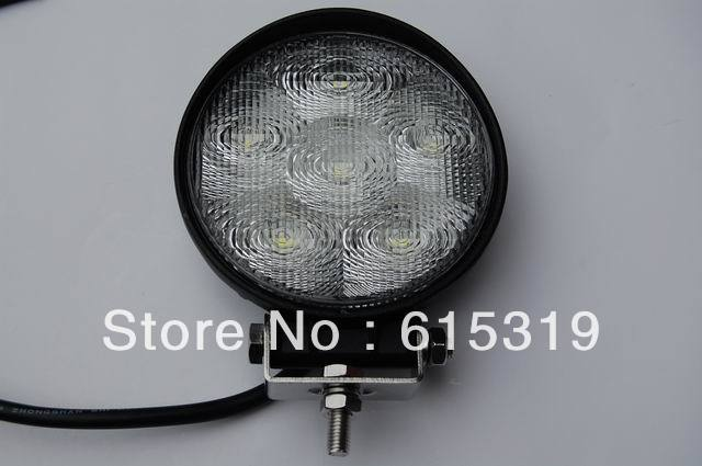 1 X 18W 1350LM 1210 Led Work Light 12v/24v led flood beam  lamps tractor fog lamp truck heavy duty off road by HK post<br><br>Aliexpress