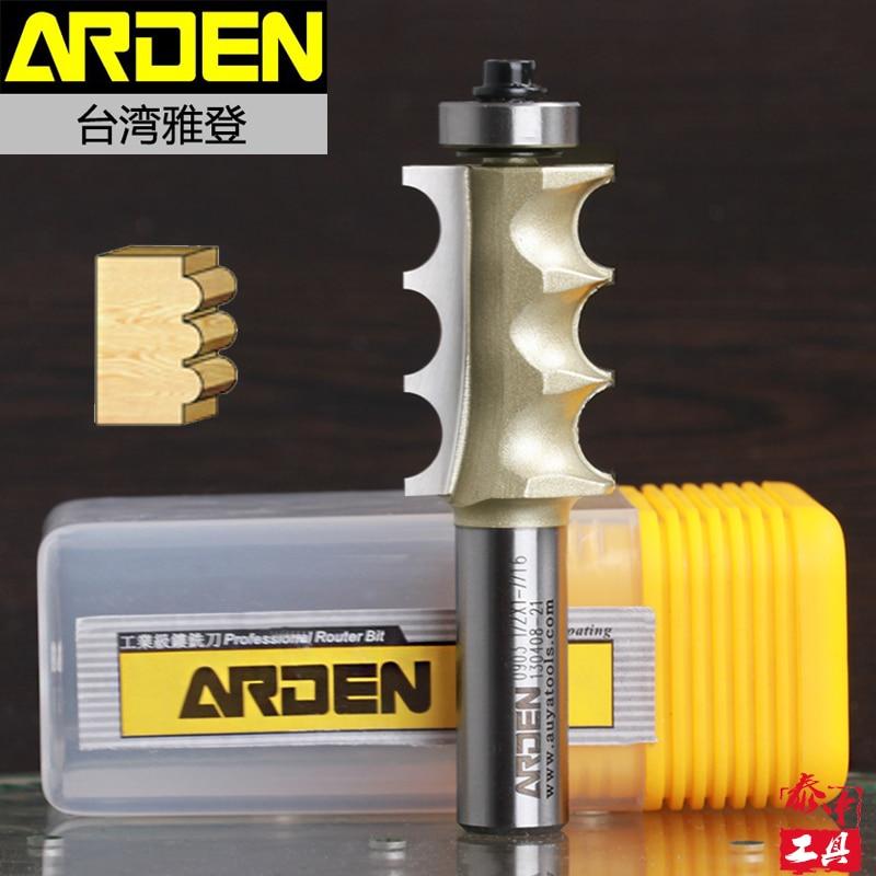 Woodworking Triple Bead Arden Router Bit - 1/2*7/8 - 22.2mm  Shank - Arden A0903158<br><br>Aliexpress