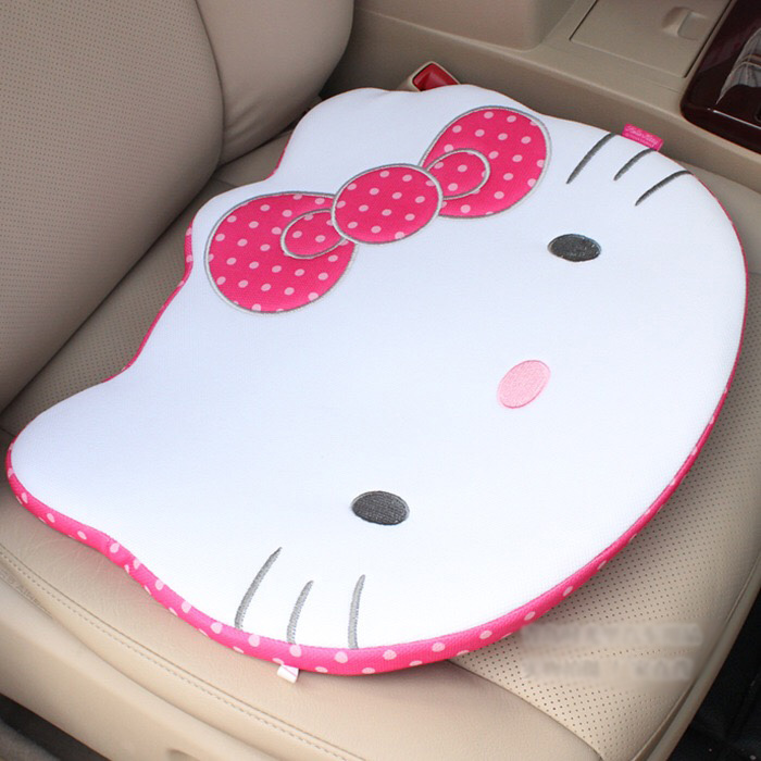 Pink-Car-Styling-Car-Seat-Covers-Interior-Accessories-Hello-Kitty-Car-Steering-Wheel-Cover-Handbrake-Gears(4)