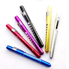 10Pcs/lot LED medical small flashlight pupil pen light lamp medical doctor special flashlight(China)