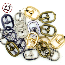 New arrive high quality 30pcs/lot silver black gold bronze 8mm alloy metal shoes bags Belt small Buckles DIY sew accessories(China)