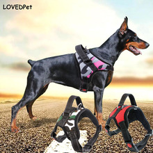 Pet shop Neck Straps Product for Large Dog Harness k9 dogs breast-band collar harness Lead Pets Vest Dog harnesses Adjustable XL