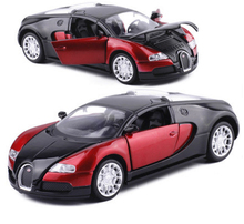 High Simulation 1:32 Bugatti Veyron Racing Alloy Car Model Acousto-optic Vehicles Matal Car Model Classic Car Children Toy Gifts