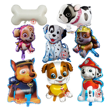 foil animal balloons birthday party decorations kids baby toys wedding decoration party supplies helium dog balloon dog ballons(China)