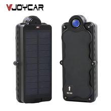 VJOYCAR TK05SSE 5000mAh Rechargeable Removable Battery Solar GPS Tracker GSM GPRS Waterproof Magnet Locator FREE Software APP(China)