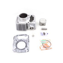 2sets/lot 2088 High Quality Motorcycle Cylinder Kit For Honda CBF125 SDH125-51 SDH125-51A WH125-7 WH125-8 WH125-11 Engine Parts(China)