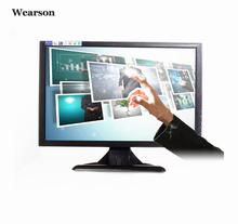 "Wearson 19"" inch Resistive Touch Screen Monitor VGA 1440x900 16:10 With VESA Stand For Medical care&Pos Cashier&Computer,etc(China)"