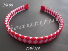 Hand Customize Hair Accessories Free Shipping 20pcs BLESSING Good Girl Fashion Handicraft B- Woven Headband 5 Style 196 No.