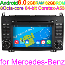 Vehicle Android 6.0 Octa Core Computer PC For Mercedes Benz Sprinter W169 W245 W906 Viano Vito W639 4G WIFI GPS Navigation Radio