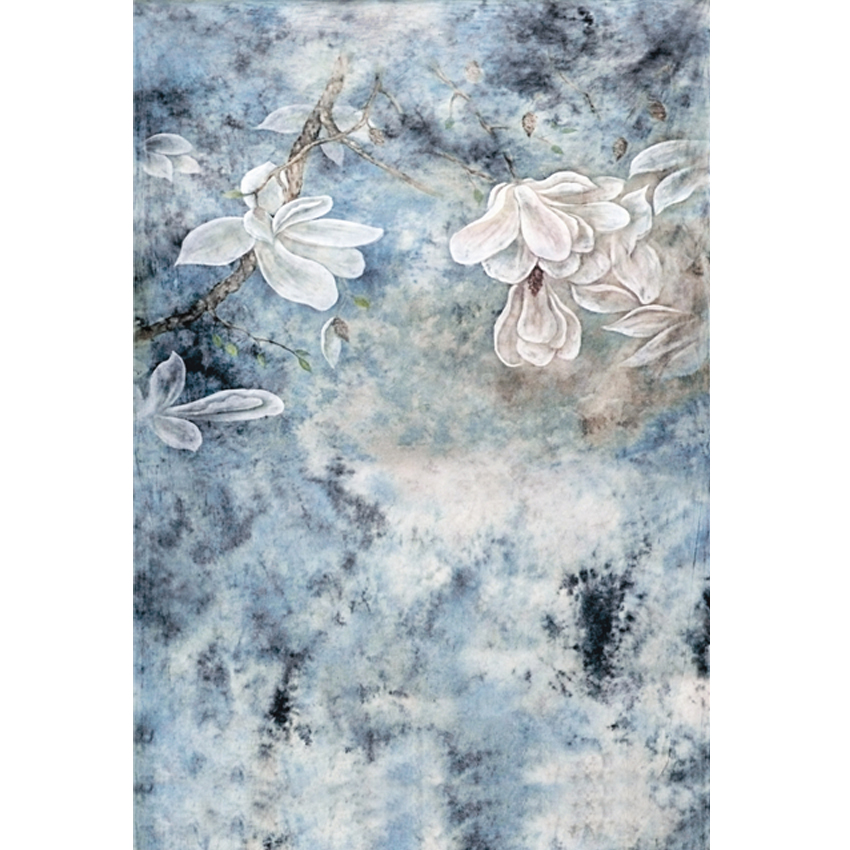 Vintage Country Style Light Gray Blue Floral Photography Backdrops for Studio Photographic Background 150cm*200cm<br><br>Aliexpress