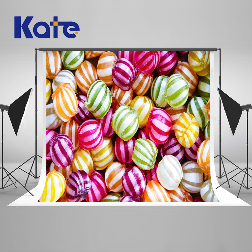 5x7ft Kate Love Pink Candy Boys Backdrops For Photography Sweet Newborn Photo  Customize Photography Studio Background<br>