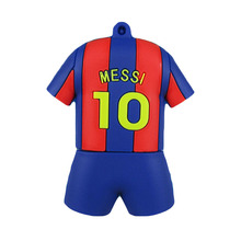 Pen drive messi football clothes 4gb 8gb 16gb 32gb 64gb 128gb usb 2.0 flash drive memory stick pendrive flashdrive gift
