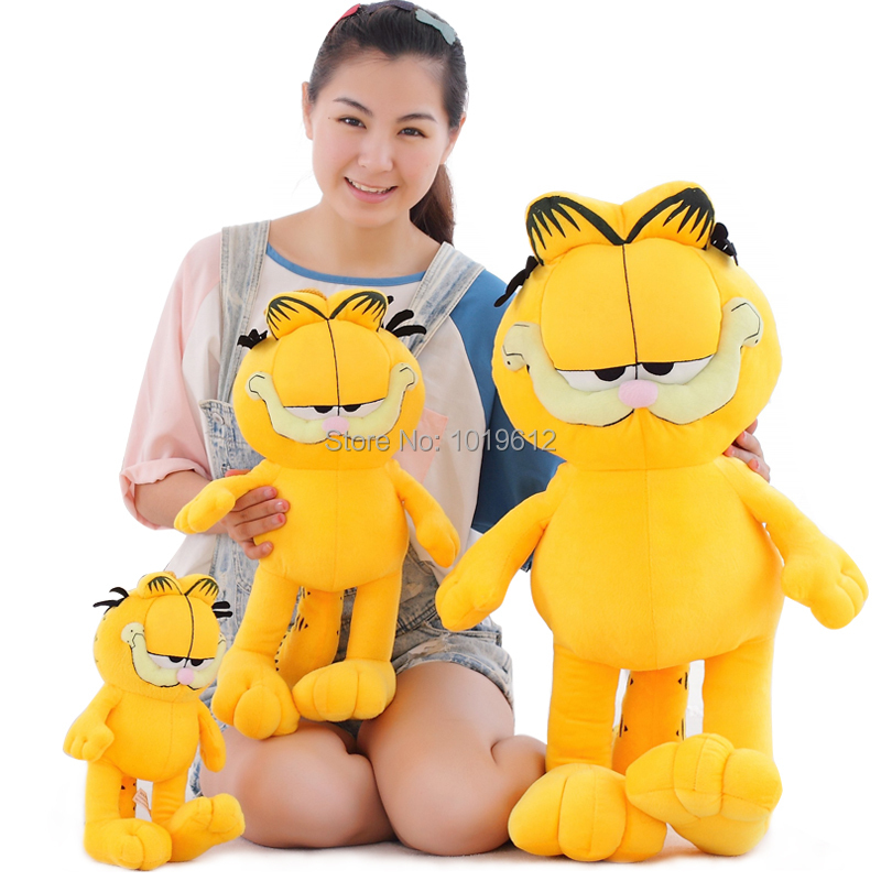45cm Factory direct sale Wholesale cartoon cat Garfield doll plush toyfor birthday gift 1pcs/lot<br><br>Aliexpress