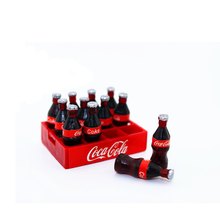 RC Crawler 1:10 Mini Coke Bottle & Tray Model Toys for Tamiya CC01 Axial SCX10 RC4WD D90 D110 TF2 RC Truck Car Decor Accessories