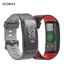 Buy SCOMAS F4 Smart Fitness Wristband Blood Pressure Heart Rate Monitor Waterproof Sports Smart Bracelet Smartband IOS&Android for $25.62 in AliExpress store