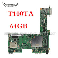 for Asus Transformer T100TA Tablet Motherboard 64GB Atom 1.33Ghz CPU 60NB0450-MB1070 free shipping