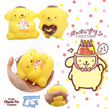 2017 New Arrival 6CM kawaii Cute squishy Bear Slow Rising Squeeze Phone Strap Charm Bread Cake Buns Kid Toys Gift Doll Wholesale
