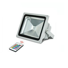 10X Top quality 30W High power RGB LED floodlight with remote controller express free shipping