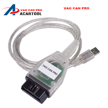 High quality VAG CAN PRO CAN BUS+UDS+K-line S.W Version 5.5.1 VCP Scanner S.W Version 5.5.1 better than VCDS ODIS free shipping(China)