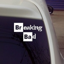 Breaking Bad Walt White Cook Sticker Vinyl Car Window Decal / Reflective Silver/wholesale