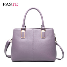 2017 Summer genuine leather stereotypes made handbags women's luxury brands designer fashion high quality tote shoulder bag