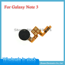 MXHOBIC 5pcs/lot Power Button Flex Cable Vibrator Vibration Motor Replacement for Samsung Galaxy Note 3 free shipping