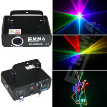 Night club lighting stage DJ led light disco multi color mini cheap 1w rgb laser light with high quality