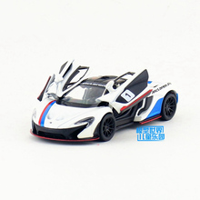 KINSMART Die Cast Metal Model/1:36 Scale/McLaren P1 Racing Series toy/Pull Back Car for children's gift/Educational Collection(China)