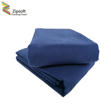 2 Pcs\Lot Zipsoft Beach Towels Microfiber quick dry compact backpacking travel sports pilates cycling hiking yoga Fabric Square